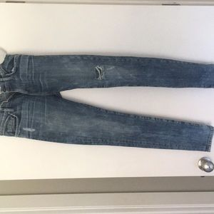Current/ Elliott distressed jeans